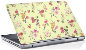 RADANYA Floral Laptop Skin Vinyl Laptop Decal 15.6