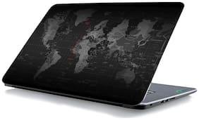 RADANYA Map Laptop Skin Vinyl Laptop Decal 15.6