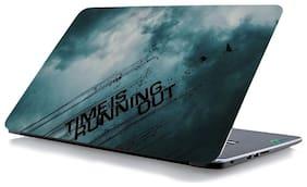 RADANYA Quotes Laptop Skin Vinyl Laptop Decal 15.6 (Multi)