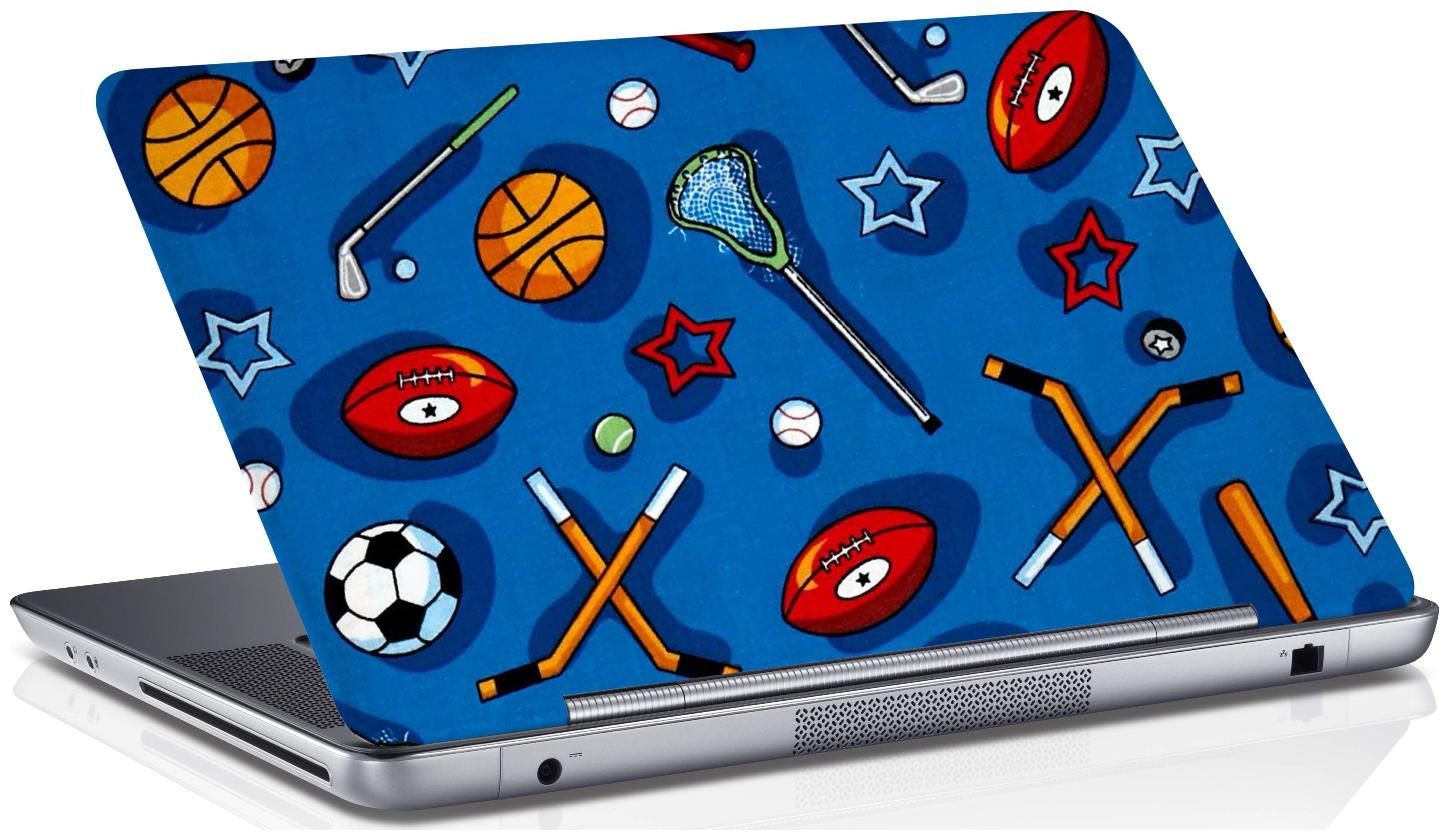 RADANYA SportsLaptop Skin Vinyl Laptop Decal 15.6