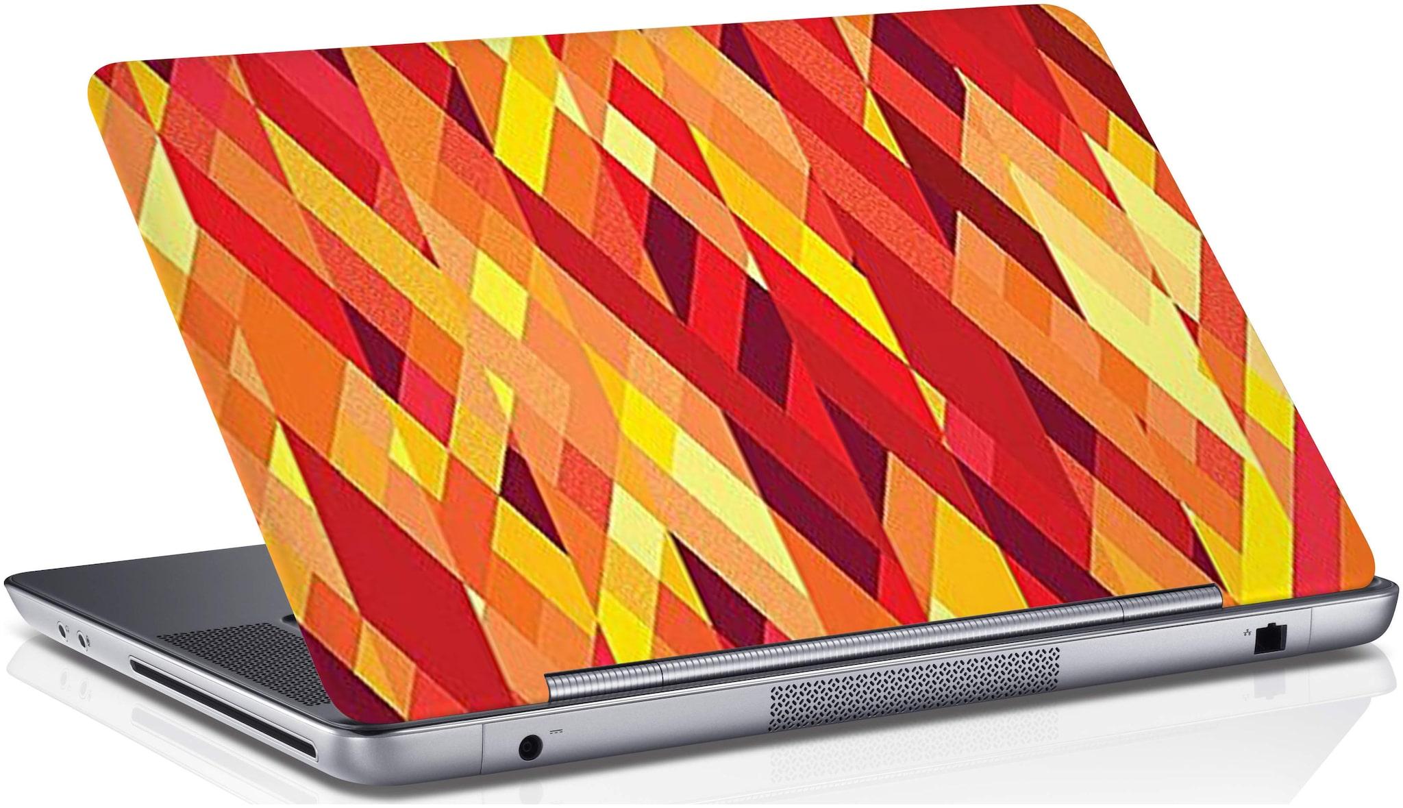 RADANYA Stripe Laptop Skin Vinyl Laptop Decal 15.6  Multi