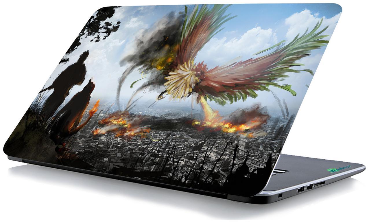 RADANYA Wild Life Laptop Skin Vinyl Laptop Decal 15.6
