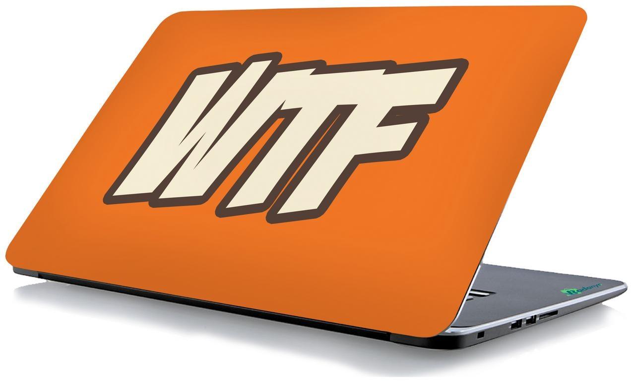 Radanya Wtf Laptop Skin  Laptop Decal 15.6