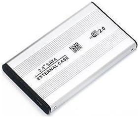 Ranz Case 6.35 cm (2.5 inch) External HDD Cover (White)