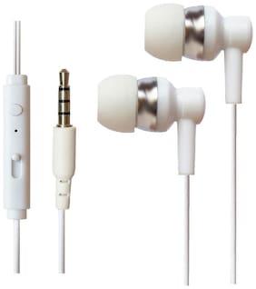 SHINING ZON HSETLOVWHRELME1 In-Ear Wired Headphone ( White )