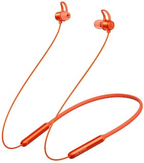 realme Buds with Mic In-Ear Bluetooth Headset ( Orange )