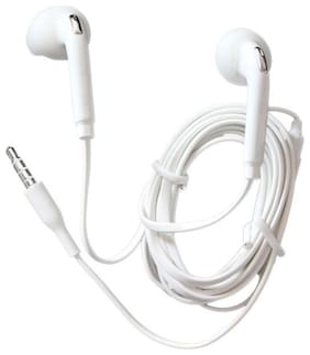 Rebhim EG920 In-Ear Wired Headphone ( White )