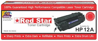 Red Star HP 12A, Q2612A compatible toner cartridge for HP Laserjet printer MFP M1005, M1319f