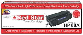 Red Star HP CC388A, 88A compatible toner cartridge for HP Laser printer MFP M202, M202n, M202dw, M126nw, M128fn, M128fw, M226dw, M226dn, M1136, M1213nf, M1216nfh, M1218nfs