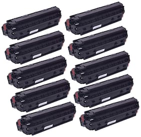 Ree-Tech 88 A 10 Toner Cartridge Compatible for HP 1007/1108/1136 - Pack of 10