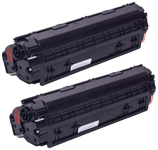Ree-Tech 88 A 2 Toner Cartridge Compatible for HP 1007/1108/1136 - Pack of 2