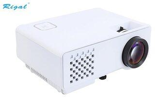 Rigal RD-810 1000 Lumens LED Projector with HDMI,VGA,AV, USB White