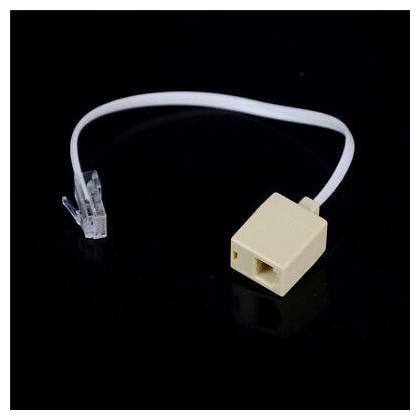 RJ11 6P4C Female To Ethernet RJ45 8P8C Male F//M Adapter Converter Cable Pho NE