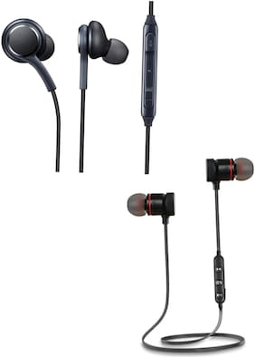 Rockpapa Magnet+AKG In-Ear Bluetooth Headset ( Assorted )