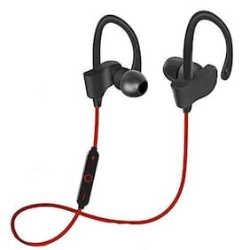 ROEID QC10 In-Ear Bluetooth Headset ( Black & Red )