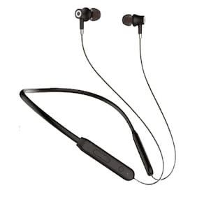 S4 Lightweight Wireless and Magnetic Earbuds In-Ear Bluetooth Headset ( Black )