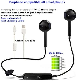 Buy Sami S6 Ear 01 Mono Bluetooth Headset Black Online At Low Prices In India Paytmmall Com