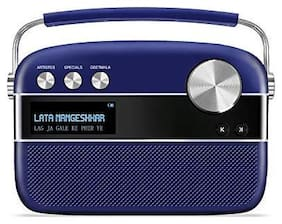 Saregama CARVAAN PREMIUM Bluetooth Portable speaker ( Blue )