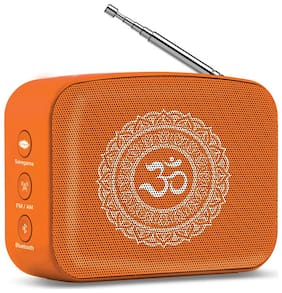 Saregama MINI BHAKTI 5 Bluetooth Portable speaker ( Orange )