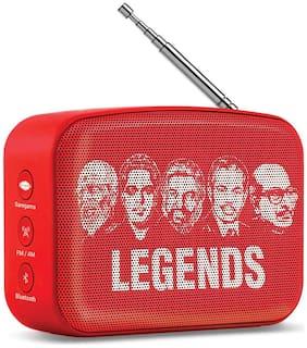 Saregama CARVAAN MINI MALAYALAM Bluetooth Portable speaker ( Red )