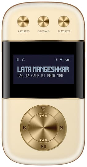 Saregama CARVAAN GO 2.0 Bluetooth Portable speaker ( Champagne gold )