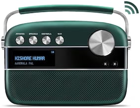 Saregama CARVAAN 2.0 Bluetooth Portable Speaker ( Green )