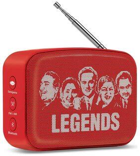 Saregama Bluetooth Speaker ( Red )