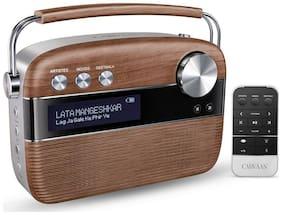Saregama CARVAAN SC02 Bluetooth Portable Speaker ( Brown )