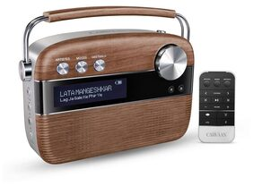 Saregama Carvaan Portable Digital Music Player (Oak Wood Brown)