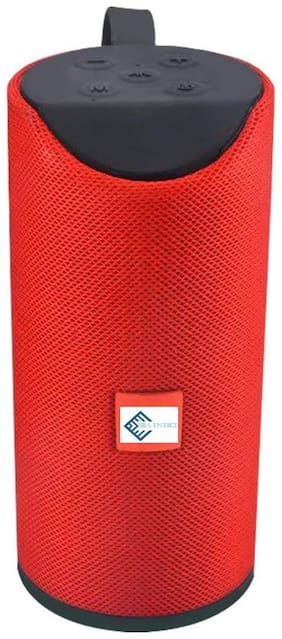 Sba Entice Bluetooth Portable Speaker ( Red )