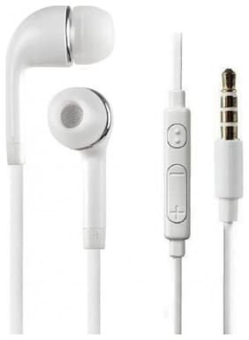 SelfieSeven sai037 In-Ear Wired Headphone ( White )
