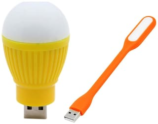 Selfieseven USB Bulb With USB Light (Assorted)