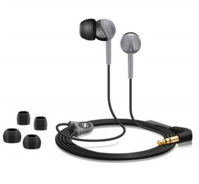 Sennheiser CX 180 In Ear Earphone (Black & Grey)