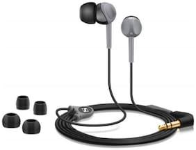 Sennheiser Cx 180 In-ear Wired Headphone ( Black & Grey )
