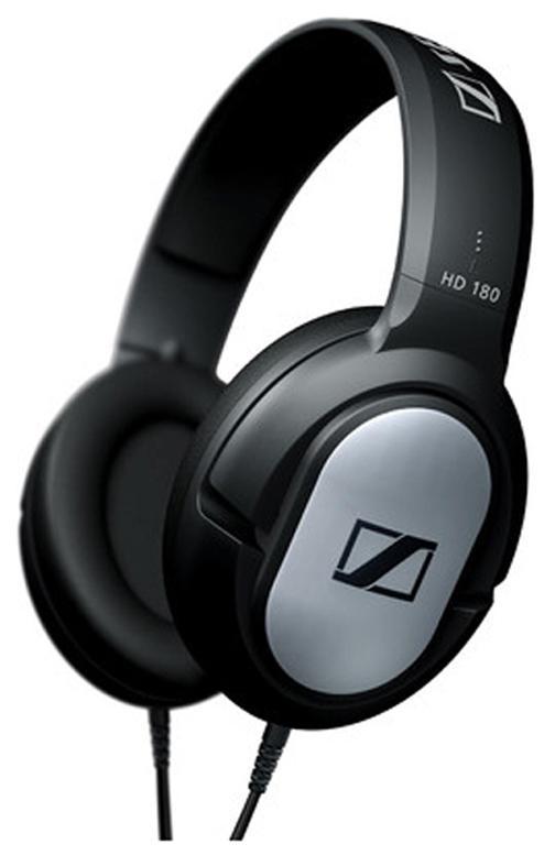 Sennheiser HD 180 Over Ear Headphone (Black)