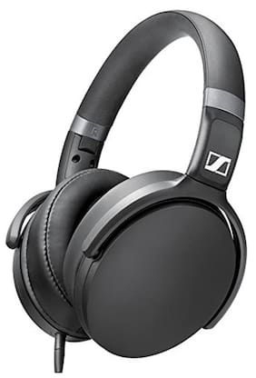 Sennheiser HD 4.30G Black Over Ear Headphone (Black)