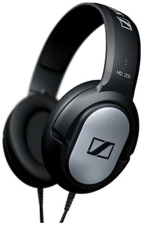 Sennheiser  HD 206 Over Ear Headset(Black)