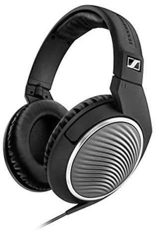 Sennheiser HD 471 G Over Ear Headphones (Black)
