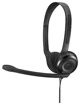 Sennheiser On-Ear Wired Headphone ( Black )