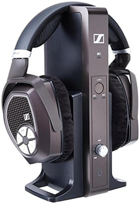 Sennheiser RS 185 Over-Ear Wired Headphone ( Black )
