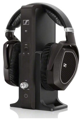 Sennheiser RS 185 Headphones (Black)