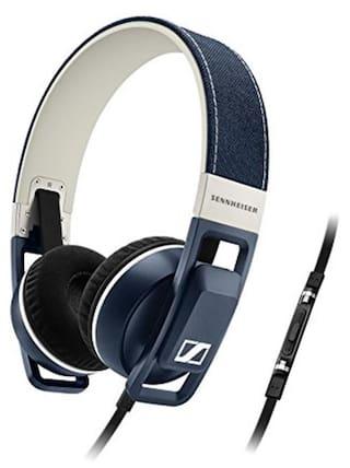 Sennheiser Urbanite On-Ear Headphones (Blue and White)