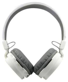 WOCKEEZ SH12 HEADPHONE Over-Ear Bluetooth Headset ( White )