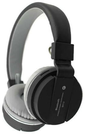 WOCKEEZ SH12 HEADPHONE Over-Ear Bluetooth Headset ( Black )