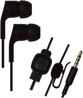 SHINING ZON HSETB3RED5 HSETB3RED5 In-Ear Wired Headphone ( Black )