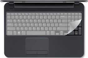 Shopatrones Laptop 14 Inch Silicon Keyguard Keyboard Skin Guard  (Washable And Reusable)