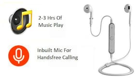 SHOPLINE LINE-S6 BLUETOOTH-4 Earphones (Multi)