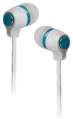 Shree Ji Enterprises HF-20 3.5mm Jack supported Flat Cable Earphones Colorful Combinations Headset Wired Headset with Mic  (White, Blue, In the Ear)