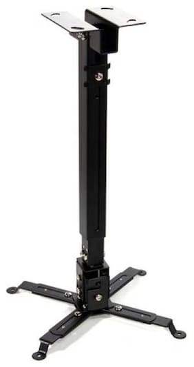 SHEIKH INDUSTRIES 2 Feet Black Ceiling mount square Projector Stand  (Maximum Load Capacity 20 kg)