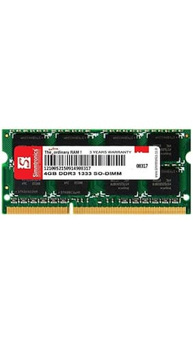Simmtronics 4 gb Ddr3 RAM for Laptop